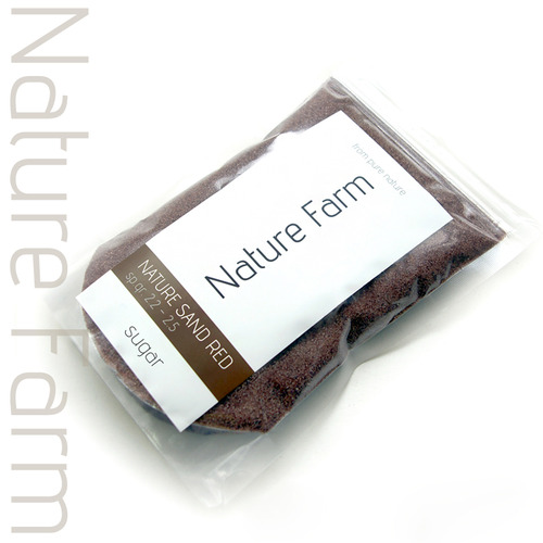 Nature Sand RED sugar 1kg 네이처 샌드 레드 슈가 1kg (0.2mm~0.4mm)