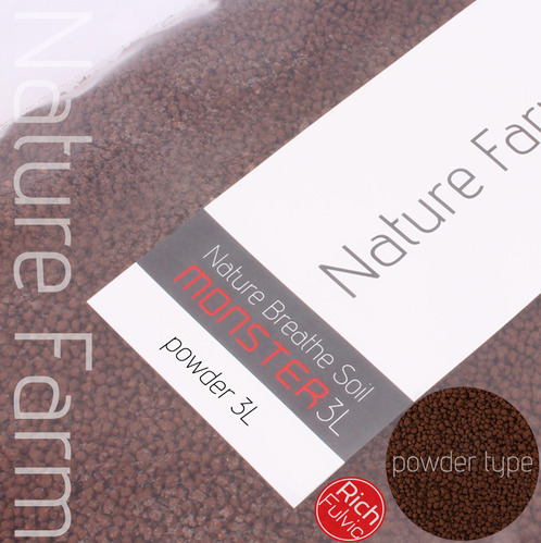Rich Fulvic Soil Brown Powder 3L 풀빅 소일 브라운 파우더 3L (1.5mm~2.8mm)