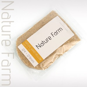 Nature Sand YELLOW normal 800g 네이처 샌드 옐로우 노멀 800g (0.4mm~0.9mm)