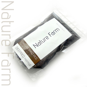 Nature Sand DEEP RED normal 1kg 네이처 샌드 딥레드 노멀 1kg (0.3mm~0.8mm)