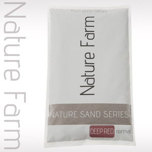 Nature Sand DEEP RED normal 9kg 네이처 샌드 딥레드 노멀 9kg (0.3mm~0.8mm)