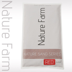 Nature Sand RED sugar 2kg 네이처 샌드 레드 슈가 2kg (0.2mm~0.4mm)